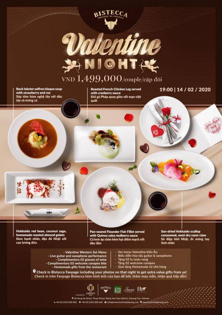 Valentine at New Orient Hotel Danang
