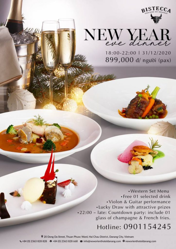 New Year Eve Dinner at New Orient Hotel Danang